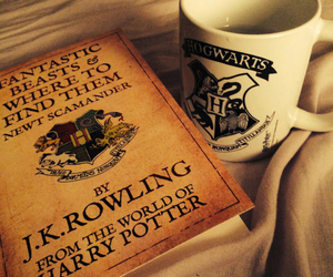 book, harry potter, and hogwarts image
