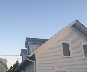 house, pale, and sky image