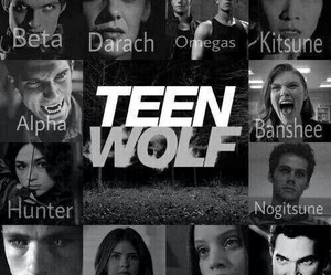 teen wolf, alpha, and beta image
