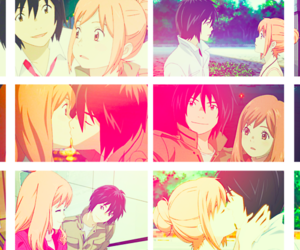 anime, bleach, and couple image