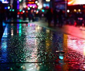 city lights at night image