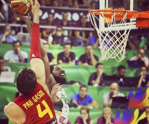 Basketball, espana, and NBA image