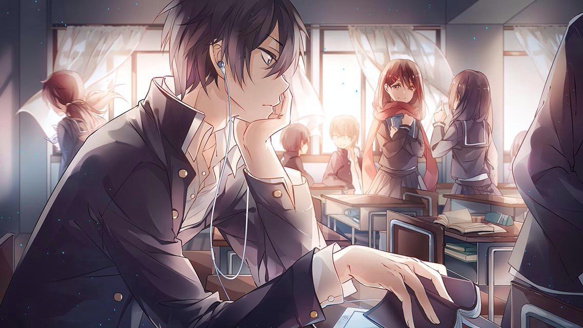 anime, boy, and wallpapers image