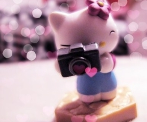 hello kitty and camera image