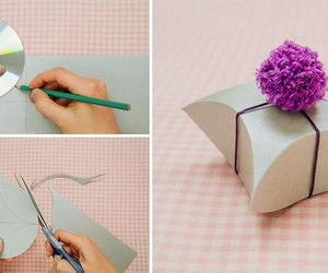 diy, gift box, and paper crafts image