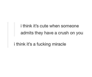 crush, miracle, and cute image
