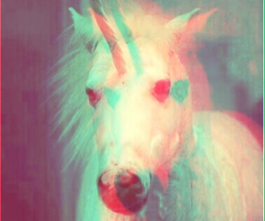 unicorn, animal, and grunge image
