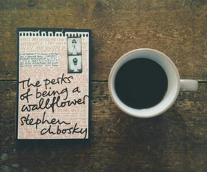 books, coffee, and vintage image