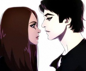 elena gilbert and damon salvatore image