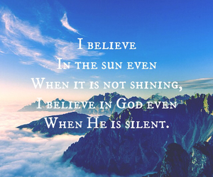 believe, christian, and god image