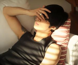 model, relax, and won jongjin image