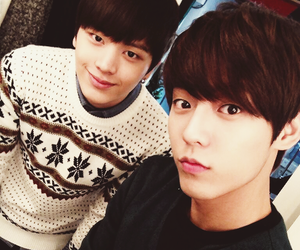 minhyuk, sungjae, and btob image