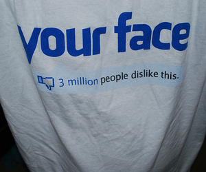 facebook, funny, and dislike image
