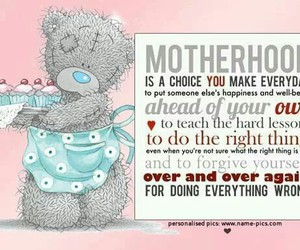 mother, tatty teddy, and love image