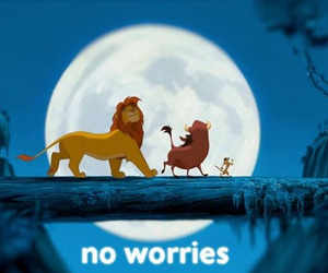 disney, noworries, and timon image