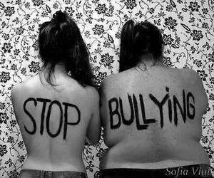bullying, stop, and stop bullying image