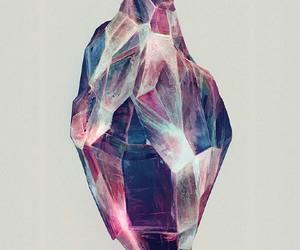 crystal, art, and drawing image