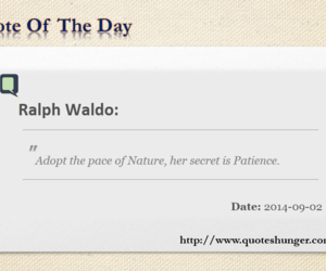 quote of the day, ralph waldo, and ralph waldo quotes image
