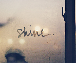 shine, window, and text image