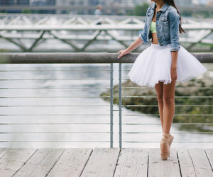 ballet, cute, and dancing image