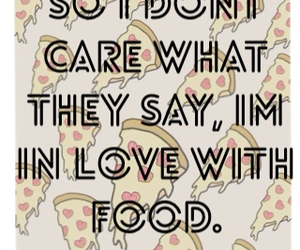 food, in love, and Relationship image
