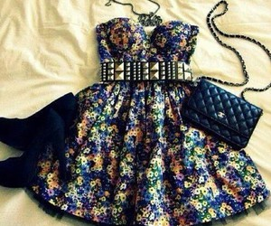 beautiful, outfit, and dress image