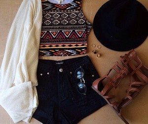 aztec, fashion, and summer image