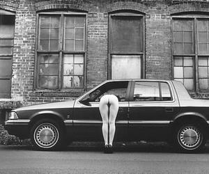 old car, sexy, and naked image