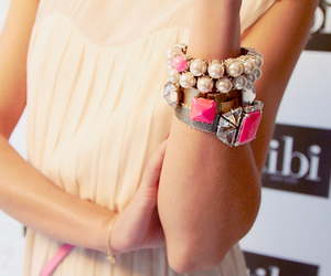 bracelets, girl, and chic image