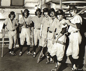 The Warriors and baseball furies image
