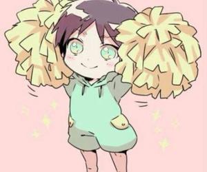 attack on titan, anime, and kawaii image