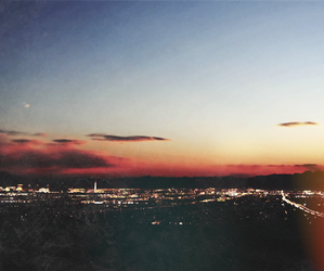 sky and city image