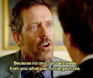 quote, house md, and dr house image