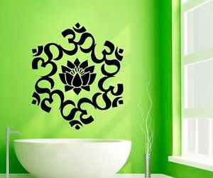 decals, indian, and yoga image