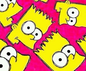 simpsons, wallpaper, and cute image