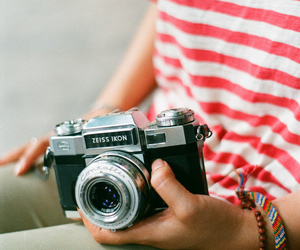 camera, vintage, and hipster image