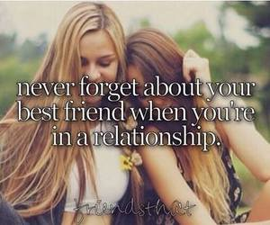 best friends, Relationship, and friends image