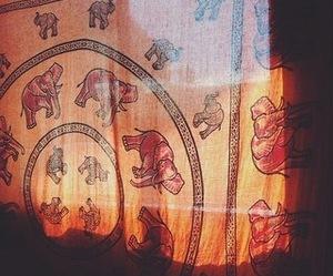 elephant, hippie, and boho image