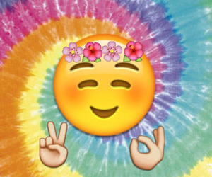 colorful, hippie, and smile image