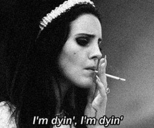 lana del rey, smoke, and black and white image