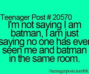batman, funny, and room image