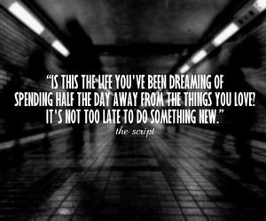dreams, life, and love image