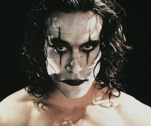 brandon lee, crow, and scary image