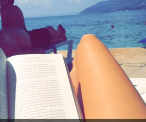 book and ocean image