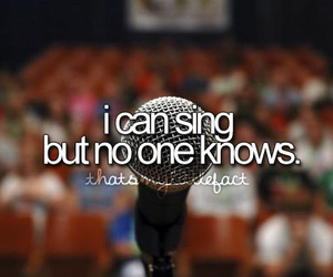 sing, music, and quote image