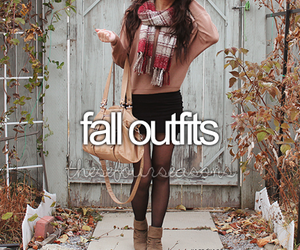 fall, outfit, and fashion image