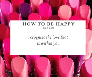 dior, Lipsticks, and how to be happy image