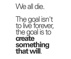quote, create, and forever image