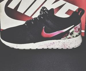 nike and flowers image