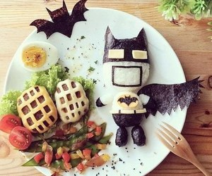 food and batman image